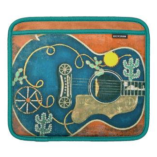 オーレ西部のギターのiPadの袖 iPadスリーブ