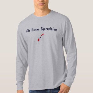 オーレEinar Bjørndalenのモダンなバイアスロンの教父 Tシャツ