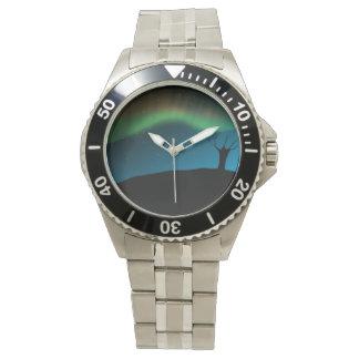 オーロラの空 腕時計