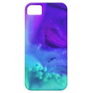 オーロラの紫色 iPhone SE/5/5s ケース