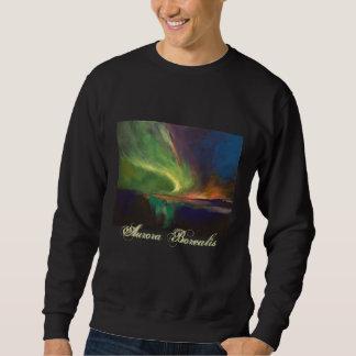 オーロラのBorealisのTシャツ スウェットシャツ