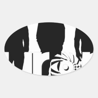 オーロラ2017 NEW_Background3 楕円形シール