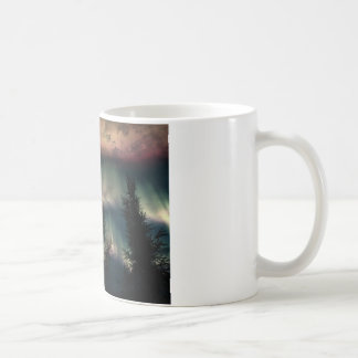 オーロラ コーヒーマグカップ