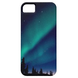 オーロラ iPhone SE/5/5s ケース