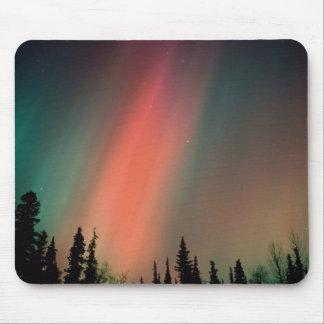 オーロラBorealisのNorthern Lights、アラスカ マウスパッド