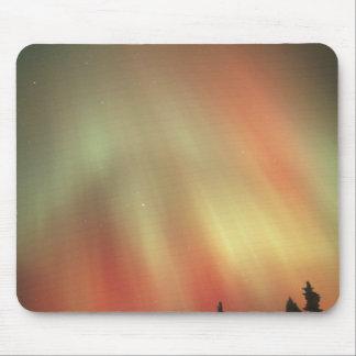 オーロラBorealisのNorthern Lights、フェアバンクス マウスパッド