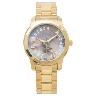 オーロラKARNAVALI 1994年のバーセイルズの腕時計の金ゴールド 腕時計
