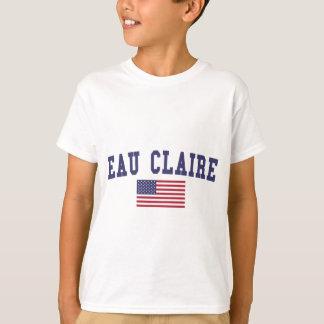 オー・クレア米国の旗 Tシャツ
