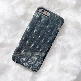 カイマンのワニの皮のハ虫類のデザイン BARELY THERE iPhone 6 ケース
