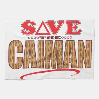 カイマンの保存 キッチンタオル