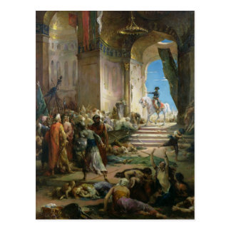 カイロの壮大なモスクのNapoleon Bonaparte ポストカード