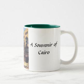 カイロの記念品のマグ ツートーンマグカップ