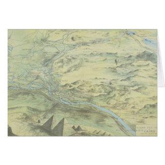カイロの鳥瞰的な眺め カード