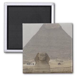 カイロエジプトのピラミッドかSphynxの磁石 マグネット