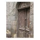カイロエジプトの建築のドアの郵便はがき ポストカード