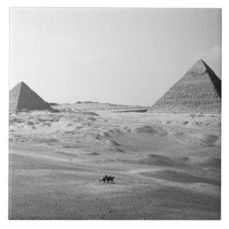 カイロエジプト、ギーザのピラミッド タイル