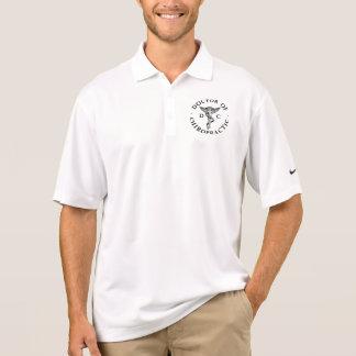 カイロプラクティックのロゴのポロシャツの医者 ポロシャツ