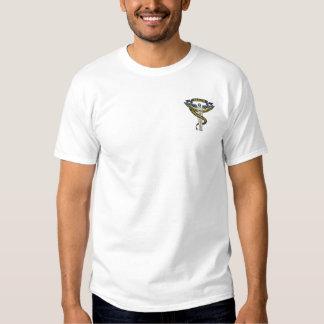 カイロプラクティックのロゴ 刺繍入りTシャツ