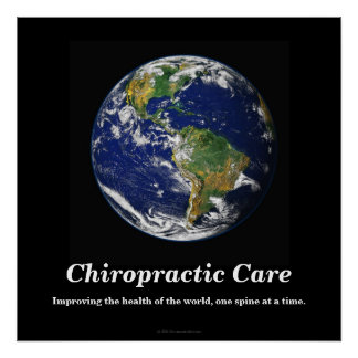 カイロプラクティックポスター: 世界の健康の改善 ポスター
