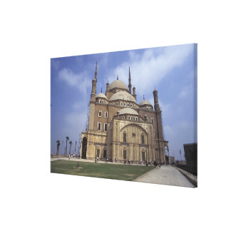 カイロ、2の砦のモハメッドアリのモスク キャンバスプリント
