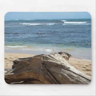 カウアイ島の流木 マウスパッド