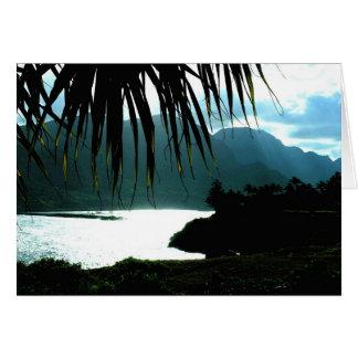 カウアイ島のKALAPAKI湾 カード