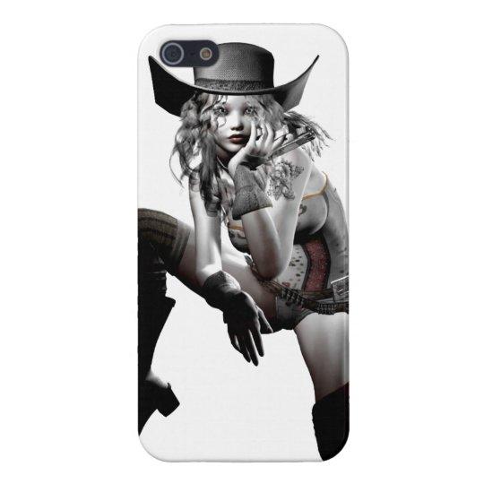 カウガール iPhone 5 カバー