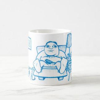 カウチ・ポテト族のマグ コーヒーマグカップ