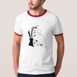 カウチ・ポテト族の虫B/W Tシャツ