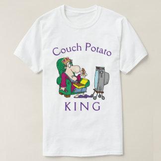 カウチ・ポテト族王 Tシャツ