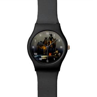 カウボーイおよび馬May28thの腕時計 腕時計