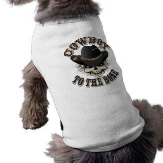 カウボーイのスカル ペット服