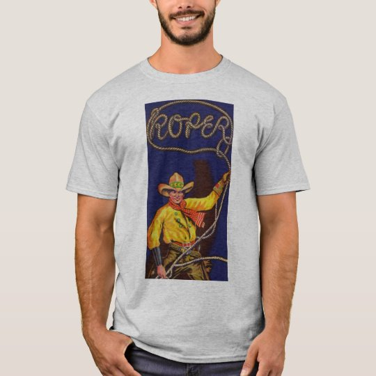 カウボーイのローパーメンズTシャツ Tシャツ