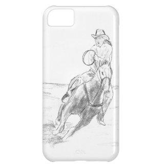 カウボーイの乗馬 iPhone5Cケース