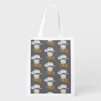 カウボーイの買い物袋 エコバッグ