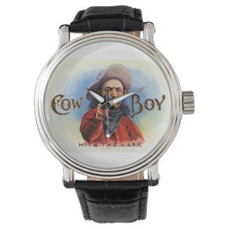 カウボーイの野生の西の腕時計 腕時計