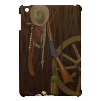 カウボーイの   iPad Miniケース