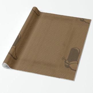 カウボーイ・ブーツの包装紙 ラッピングペーパー