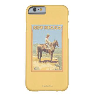 カウボーイ(側面図)ニューメキシコ BARELY THERE iPhone 6 ケース