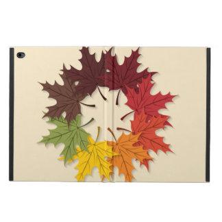 カエデの葉の円 POWIS iPad AIR 2 ケース