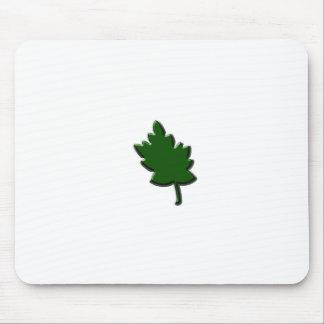 カエデの葉の緑 マウスパッド