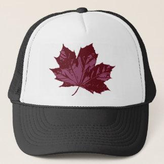 カエデの葉の記号を用いる帽子 キャップ