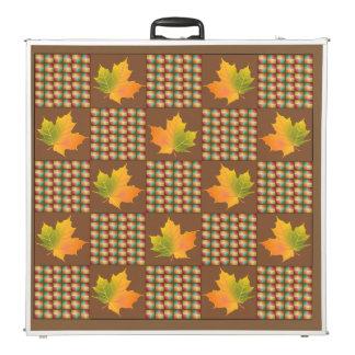 カエデの葉色の織り方 ビアポンテーブル