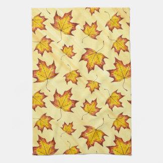 カエデの葉 キッチンタオル