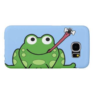 カエルおよびはえの電話 SAMSUNG GALAXY S6 ケース