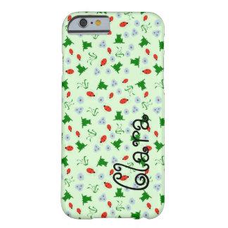 カエルおよび虫 BARELY THERE iPhone 6 ケース