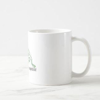 カエルに容易なそれがあります コーヒーマグカップ