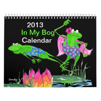 カエルのカレンダー カレンダー