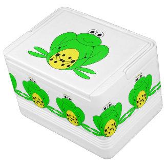 カエルのクーラーボックス IGLOOクーラーボックス