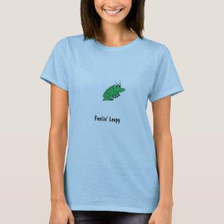 カエルのスケッチ、Feelin Leapy Tシャツ